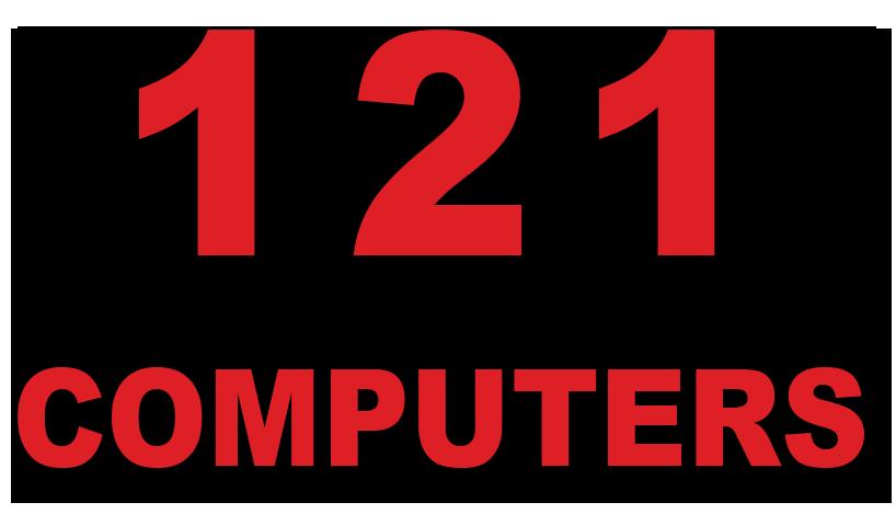 121 Computers Logo