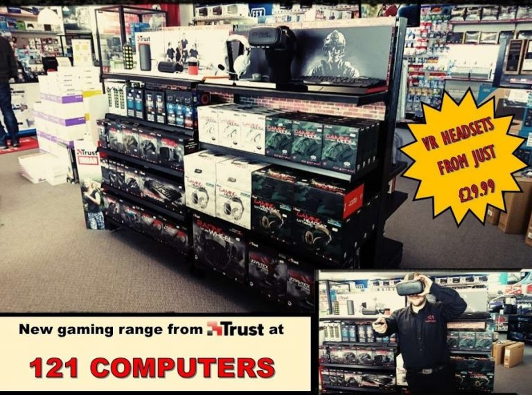 New GAMING RANGE FROM TRUST IN STORE