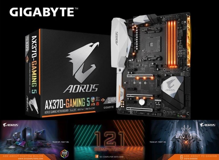 121 introduces Gigabyte into store as Gold Partner