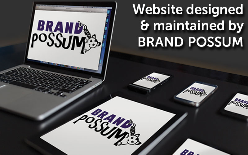 Brand Possum for website design and print
